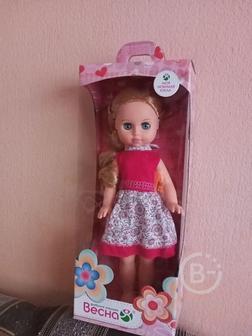 Продам куклу Мила в упаковке фабрики «Весна» 38,5 см с одеждой, сшитой для неё