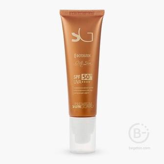 Крем фотоблок для жирной кожи SPF50 Premium Оily Skin Sunguard 50мл