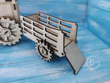 Прицеп для трактора малый