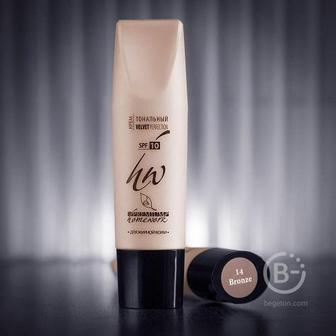 Крем тональный №14 для жирной кожи Premium Homework Velvet Perfection Bronze 30мл