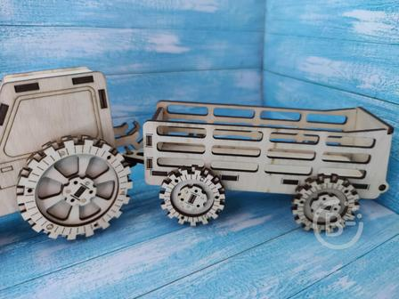 Прицеп для трактора игрушечный