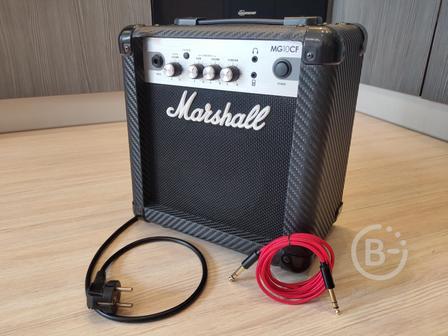 Marshall MG10 CF +Гитарный Кабель (Комбоусилитель)