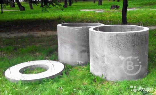 Бетонные ЖБИ кольца для канализации и колодцев