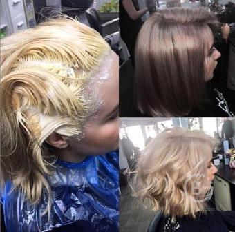 Стрижка, окрашивание волос