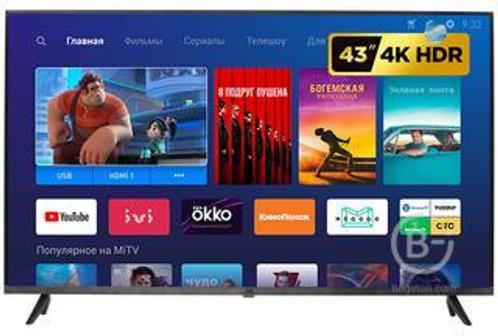 "Телевизор Xiaomi Mi TV 4S 43 T2 Global 42.5"" L43M5-5ASP (2020)"