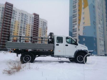 Автомобиль  ГАЗ Садко  НЕкст 4х4 двухрядная кабина