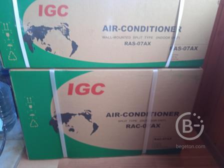 Настенный кондиционер (сплит-система) IGC RAS/RAC-07AX
