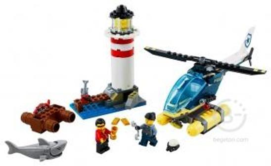 Конструктор LEGO City 60274 Морская полиция: захват на маяке