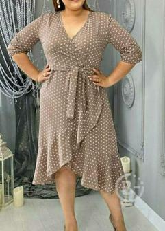 Шикарное платье на запах р-ры 50-60