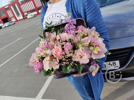 чемоданчик с цветами ФЛОРИ48