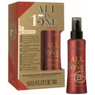 Маска-спрей для окрашенных волос 150 мл/All In One Color Mask, Selective (Селектив)