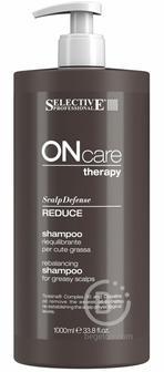 Шампунь для восстановления баланса жирной кожи головы 1000 мл/ Reduce Shampoo, Selective (Селектив) 1000 мл