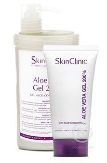 Гель с Алоэ Вера 200% 60 мл/ Aloe Vera Gel 200%, Skin Clinic (Скин Клиник)
