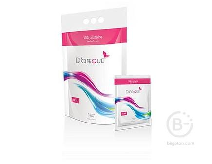 Маска с шелковыми протеинами500г / Bio satin , Daique (Дарик) 500 гр