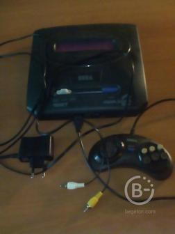 Приставка Sega много игр