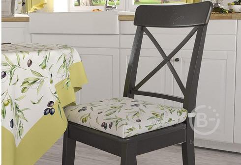 """Подушка на стул """"Олива"""""""