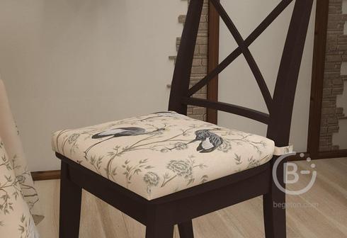 """Подушка на стул """"Журавли"""""""