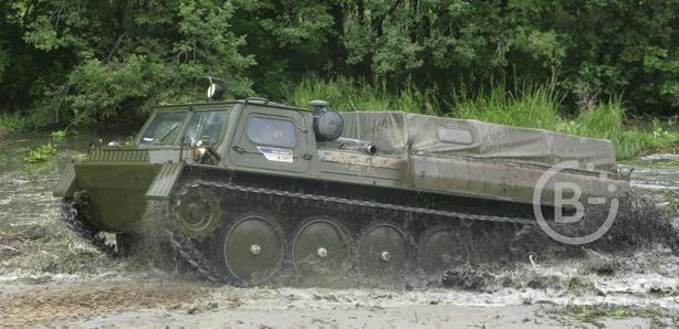 Вездеход-снегоболотоход ГАЗ-34039-22
