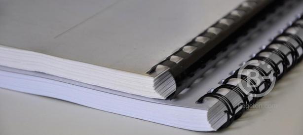 Печать документов, курсовиков, рефератов, дипломов. Брошюровка(переплет).