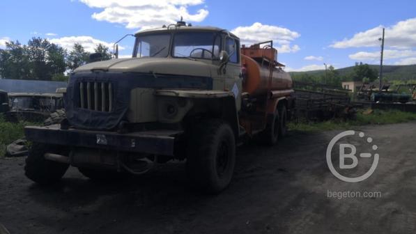 Топливозаправщик бензовоз АТЗ на шасси Урал 4320 1995г.