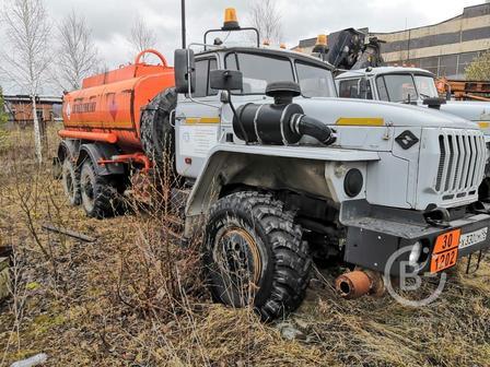 Топливозаправщик бензовоз АТЗ на шасси Урал 4320 (новый)