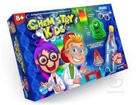 Набор для опытов 10 Магических экспериментов Chemistry Kids