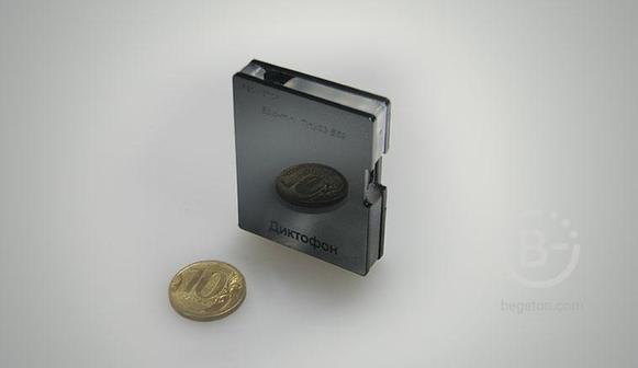 Диктофон Edic-mini Tiny модель S3-E59, 3600 часов – 24Gb