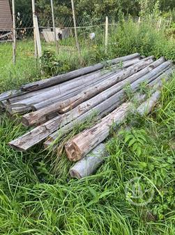 Отдам бесплатно бревна на дрова!