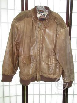 Оригинальная летная кожаная куртка «Пилот»