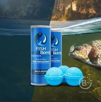 Инновационная приманка для рыбы Fish MegaBomb