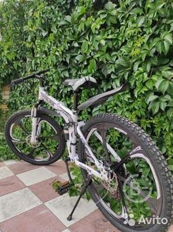 "Велосипед ""trioblade"" на литых дисках"