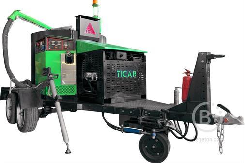 Заливщик швов Ticab БПМ-500 (на раме)