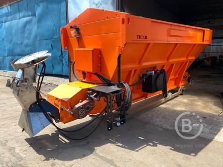 Разбрасыватель соли и песка ticab РПС-6000 (КОМ)