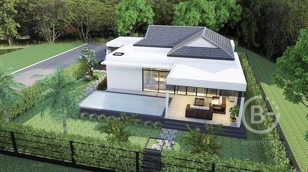 Новый проект виллы с частным бассейном в Хуахине, Таиланд