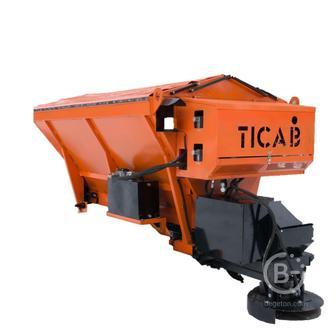 Разбрасыватель песка и соли Ticab РПС-1500 (на раме)