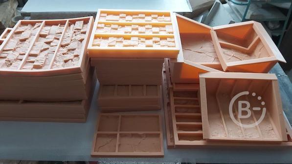 Бизнес - производство эластичных форм для искусственного камня