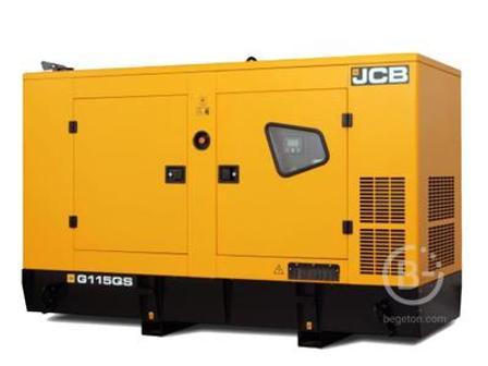 Аренда дизельного генератора - 92.80 кВт, модель JCB G115QS