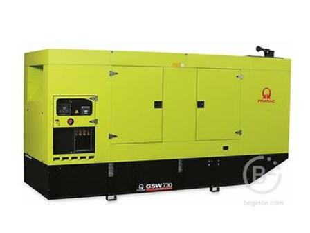 Аренда дизельного генератора - 531,05 кВт, модель Pramac GSW730M