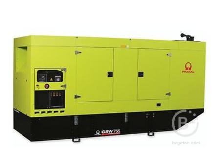 Аренда дизельного генератора - 551,58 кВт, модель Pramac GSW755DO