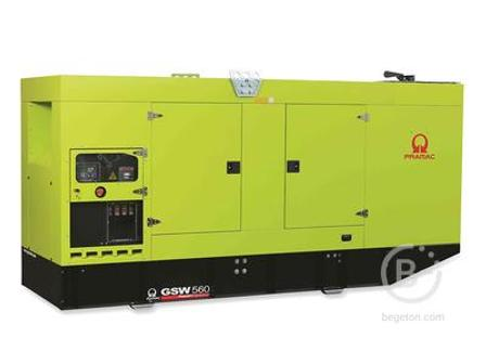 Аренда дизельного генератора - 406 кВт, модель Pramac GSW560