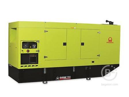 Аренда дизельного генератора - 565,85 кВт, модель Pramac GSW780V