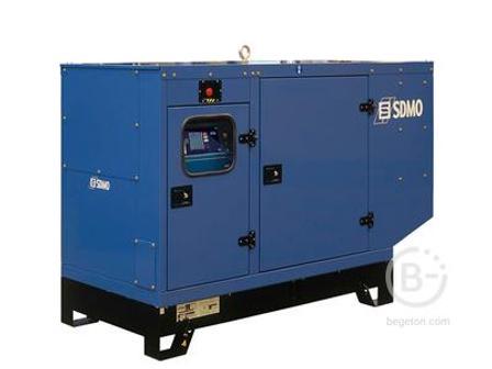 Аренда дизельного генератора - 80 кВт, модель SDMO J110K