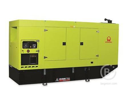 Аренда дизельного генератора - 505,5 кВт, модель Pramac GSW705V