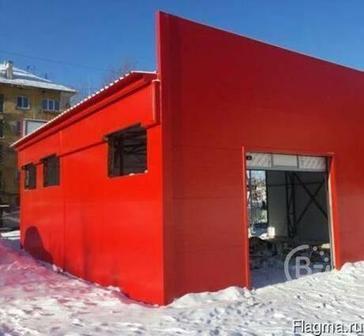 Сборные гаражи, склады, ангары в Уфе