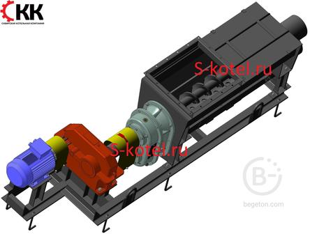 Винтовая дробилка-грохот ВДГ-10 и запасные части