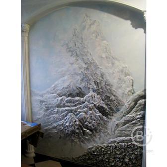 Роспись стен и Барельефы в Пензе
