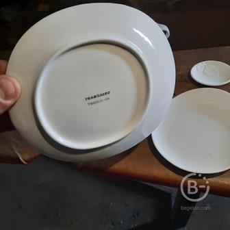 Фарфоровая посуда (трансаеро)