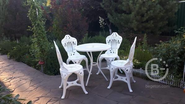 "Комплект мебели ""Тюльпан"" (стол и три стула)"