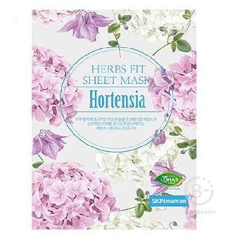 Увлажняющая тканевая маска с экстрактом гортензии, 25 мл/ Skin Maman Herbs Fit Sheet Mask Hortensia, Nohj (Нох)
