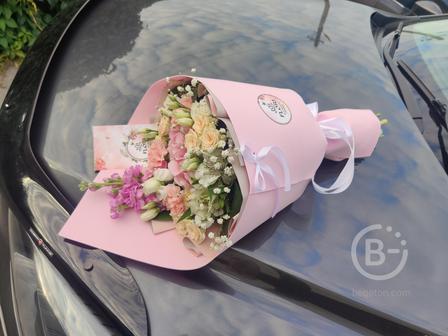Купить цветы в Липецке букет КРЕАТИВ